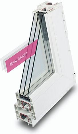 Пластиковые окна. Профиль REHAU DELIGHT DESIGN