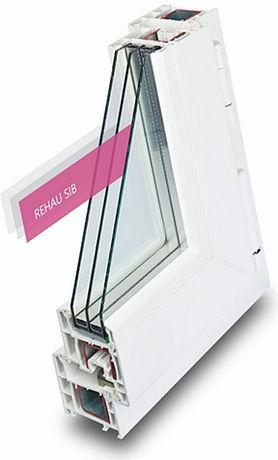 Пластиковые окна. Профиль REHAU SIB DESIGN