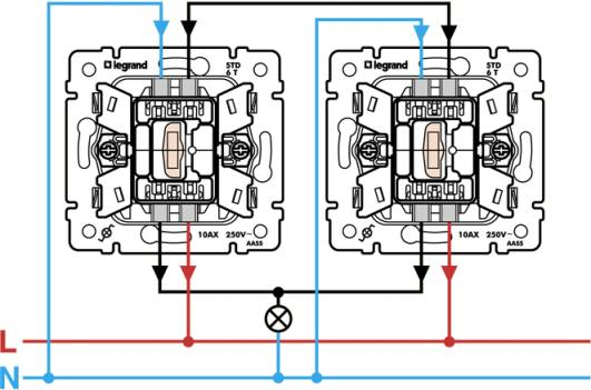 Схема подключения автоматов легранд