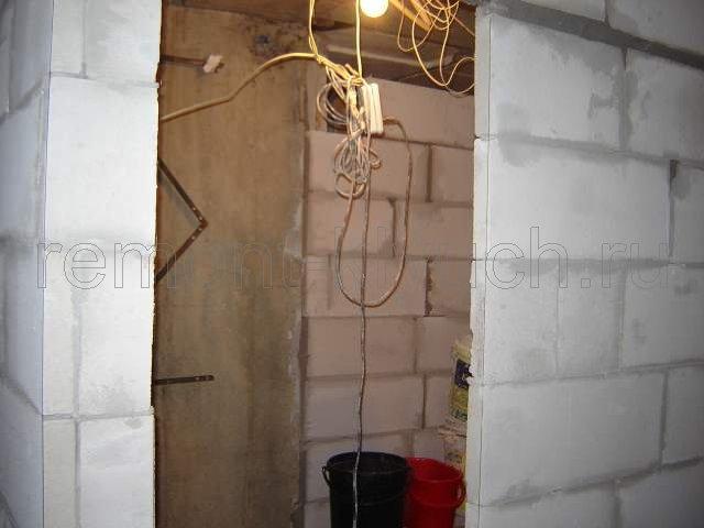 Фотографии ремонта ванной комнаты под