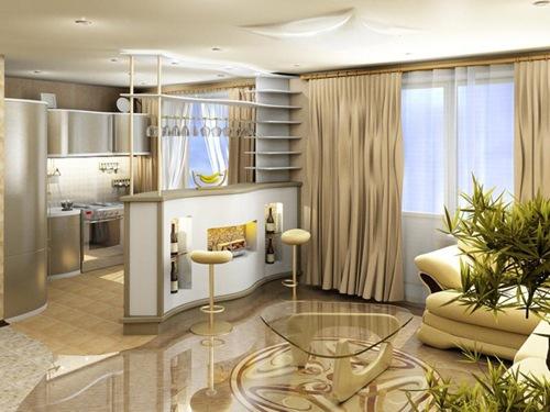 1 комнатные квартиры студии дизайн фото
