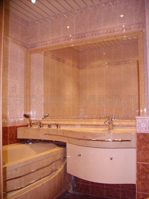 Ремонт ванной комнаты в Москве под