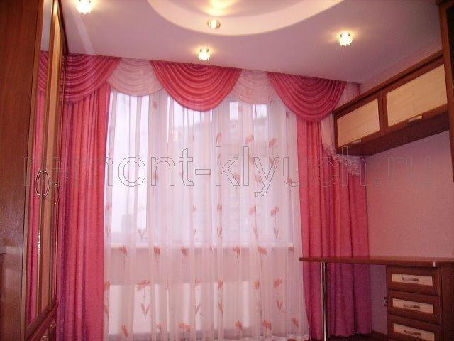 Тюль и шторы в детскую комнату.
