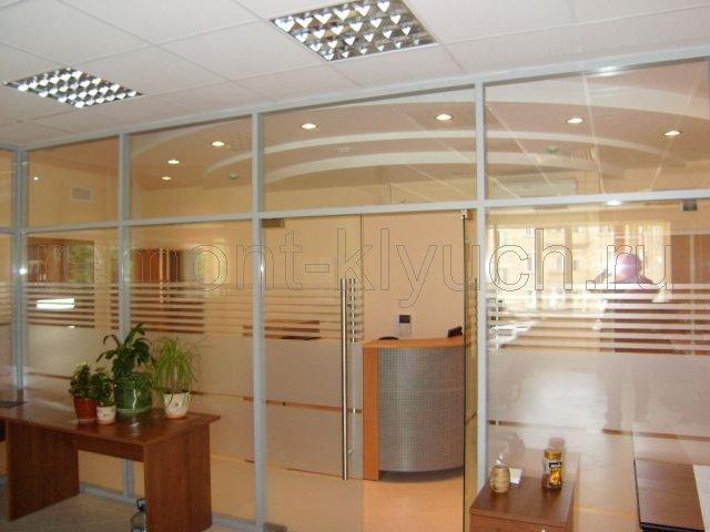 Ремонт офиса, выполненный ИллеонСтрой