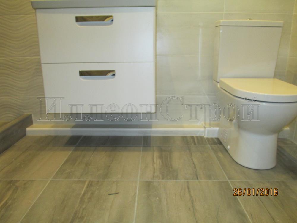 Стоимость ремонта ванной комнаты и туалета под ключ - цена